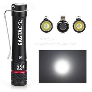 EagleTac D25AAA keychain lights リングの色:レッド【CREE XPG-S2 Cool White 白色LED搭載 / 明るさMAX145ルーメン / 単4電池×1本】 キーチェーンライト holkin