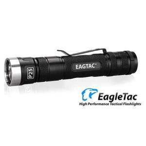 EagleTac P25LC2 XML2 【CREE XM-L2 Neutral White T6 LED 搭載 / 明るさMAX:1166ルーメン / 18650×1 or CR123A×2】 holkin
