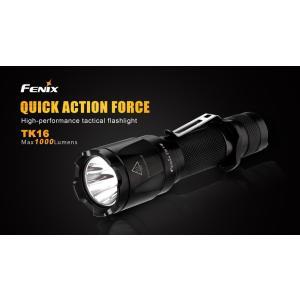 FENIX TK16 LED Flashlight【CREE XM-L2 U2 LED 搭載 / 明るさMAX1000ルーメン / 18650×1本】