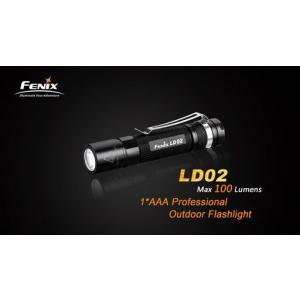 FENIX フェニックス LD02 【Cree XP-E2 LED 搭載 / 明るさ最高100ルーメン / 単4アルカリ電池×1本】|holkin