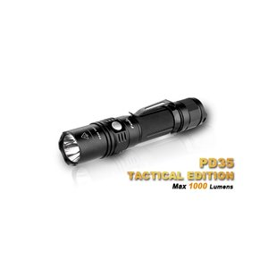 FENIX PD35 TAC Tactical Edition【Cree XP-L (V5) 白色LED / 使用電池:CR123×2 or 18650 ×1 / 明るさMAX:1000 ルーメン】|holkin