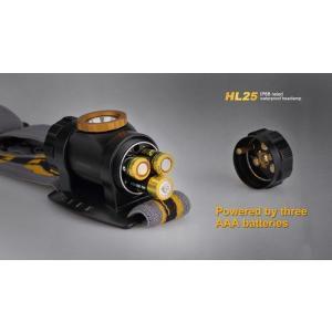 FENIX HL25 LEDヘッドライト【 Cree XP-G2 白色LED搭載 / 明るさMAX:280ルーメン(Burstモード時) / 単4×3本使用】|holkin|03