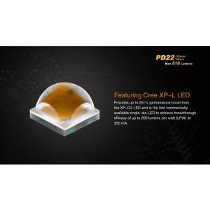 FENIX PD22 Ultimate Edition【 Cree XP-L V5 LED 白色LED搭載 / 明るさMAX:510ルーメン(16340使用時) / CR123 or RCR123 :16340×1本】 holkin 02