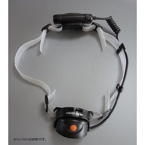 GENTOS ジェントス DELTA PEAK デルタピーク LEDヘッドライト DPX-043H / DPX-233H 対応シリコン製ゴムバンド 厚さ1mm ロング・サイズ|holkin|02