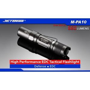 JETBeam M-PA10【CREE XM-L2 T6 白色LED搭載 / 使用電源:単3アルカリ電池,14500×1本】|holkin