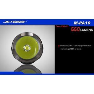 JETBeam M-PA10【CREE XM-L2 T6 白色LED搭載 / 使用電源:単3アルカリ電池,14500×1本】 holkin 03