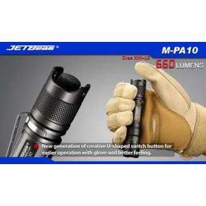 JETBeam M-PA10【CREE XM-L2 T6 白色LED搭載 / 使用電源:単3アルカリ電池,14500×1本】 holkin 06