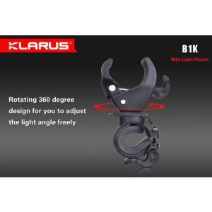 KLARUS B1K クラルス 自転車用 フラッシュライト用マウント【16-48mm径ライト対応】|holkin
