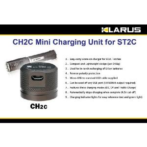 KLARUS CH2C クラルス ST2C用 USB充電ユニット|holkin