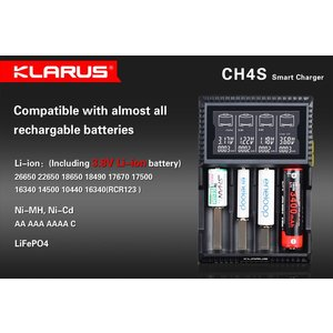 KLARUS CH4S クラルス 充電器|holkin