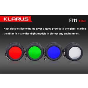 KLARUS クラルス XT11 , XT12用 ブルー・フィルター|holkin