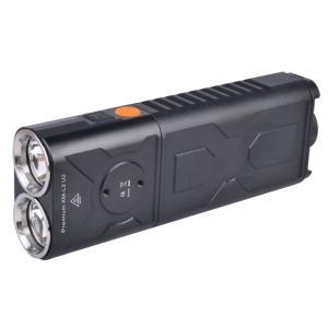 【充電式】 KLARUS RS30BA 【CREE XM-L2 U2 白色LED×2灯搭載 / 明るさMAX2400ルーメン / 18650×2本orCR123A×4本】クラルス