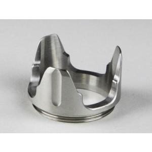 観賞用 NITECORE ナイトコア Crenulated bezel (40mm) ※取付工具は付属していません。|holkin