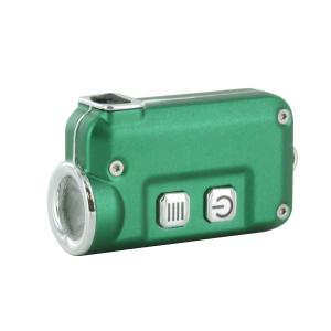 【本体色:Green】 NITECORE TINI USB Rechargeable LED キーライト【CREE XP-G2 S3 5800k LED 搭載 / 明るさMAX380ルーメン / 内臓型Li-Ion Battery】|holkin
