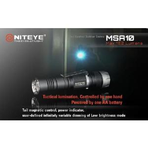 NITEYE MSA10 ナイトアイ【CREE XM-L U2 搭載 / 単3×1本使用 / 明るさMAX:160ルーメン】|holkin