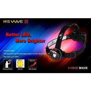 USB充電可能なLEDヘッドライトOLIGHT オーライト H15S Wave 【明るさMAX250ルーメン / CREE XM-L2搭載 / 単4アルカリ電池×4本 or 経済的な充電式タイプ】|holkin