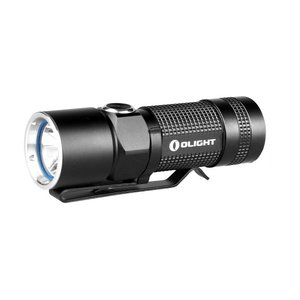 OLIGHT S10R BATON 充電式 【CREE XM-L2 白色LED搭載 / 明るさMAX:400ルーメン / RCR123(16340)電池×1本】USB充電ドック+充電池付属|holkin