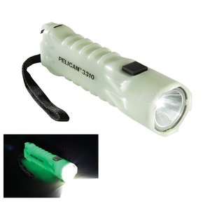蓄光モデル PELICAN 3310PL Glowing Flashlight 【明るさMAX234ルーメン / 単3電池×3本】|holkin