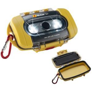 【本体色:イエロー】PELICAN LIGHT CASE 9000 ペリカン ライトケース【明るさMAX200ルーメン / 単3×4本】waterproof|holkin