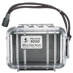 PELICAN Micro Case 1010 Clear, Black ペリカン マイクロ ケース 1010 ボディ:クリア ライナー:ブラック|holkin