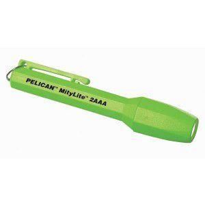 【CSA / IECex / Intertek 認証 防爆ライト】Pelican 1900 MityLite 2AAA flashlight 【本体色:ネオン・グリーン】|holkin