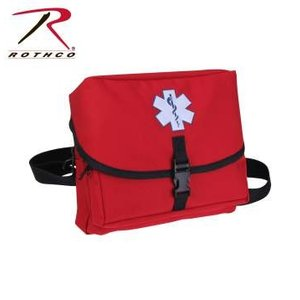 ROTHCO / ロスコ 2843 EMS Medical Field Kit【Red】 メディカルバック / 救急バック(救急箱)|holkin