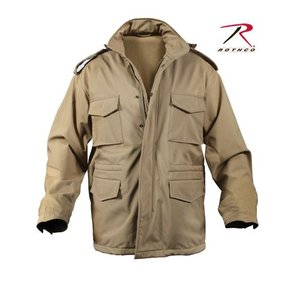 ROTHCO / ロスコ 5244 SOFT SHELL TACTICAL M-65 JACKET-COYOTE<br>【サイズ:XS〜XL】|holkin