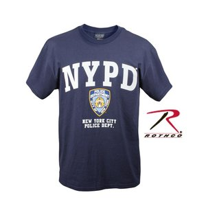 ROTHCO / ロスコ プリント メンズTシャツ 6638 NYPD OFFICIALLY LICENSED T-SHIRT【サイズ:S〜XL】|holkin