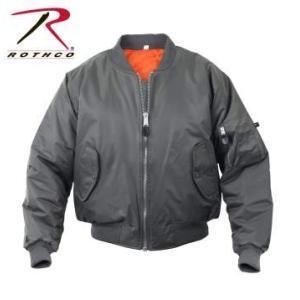 ROTHCO / ロスコ 7350 MA-1 Flight Jacket:Gun Metal Grey メンズ 上着 / フライトジャケット アウター【サイズ:XS〜XL】|holkin