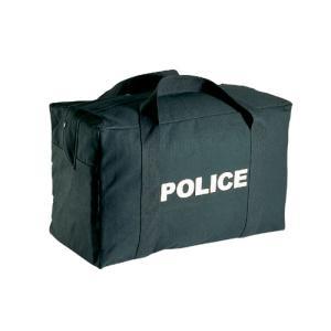 【お取り寄せ品】ROTHCO / ロスコ 8116 POLICE LOGO BLACK GEAR BAG|holkin