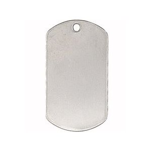 ROTHCO / ロスコ 8381 SHINY STAINLESS MILITARY DOG TAGS ドッグタグ|holkin