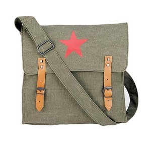 【お取り寄せ品】ROTHCO / ロスコ 9142 CLASSIC MEDIC BAG W/RED CHINA STAR|holkin
