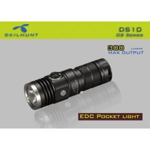 SKILHUNT DS10 EDC ポケットLEDライト 【CREE XM-L2 白色LED搭載 / 明るさ:300ルーメン / 使用電池:CR123 or RCR123 / 16340 ×1本】|holkin