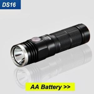 SKILHUNT DS16 【CREE XP-L 白色LED搭載 / 明るさMAX:500ルーメン / 単3×1本or14500×1本】|holkin