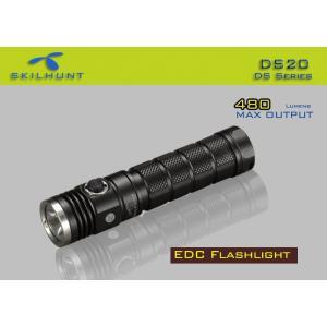 SKILHUNT DS20 EDC ポケットLEDライト 【CREE XM-L2 白色LED搭載 / 明るさ:240ルーメン / 使用電池:CR123 or RCR123(16340)充電池 x 2本 , 18650充電池×1本】|holkin