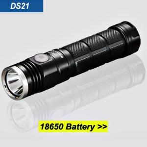 SKILHUNT DS21 【CREE XP-L 白色LED搭載 / 明るさMAX:900ルーメン / 18650×2本orRCR123A×2本】|holkin