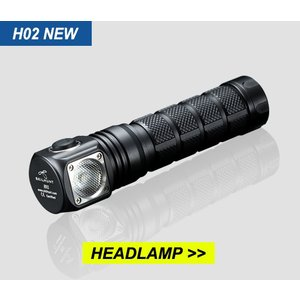SKILHUNT H02 LEDヘッドライト TIR拡散レンズ搭載モデル 【CREE XM-L2 昼白色LED搭載 / 明るさ:820ルーメン】|holkin