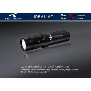 SKILHUNT IDEAL AT 【点灯方法:ヘッド部回転式/CREE XM-L T6搭載/単3アルカリ電池×1本使用】|holkin