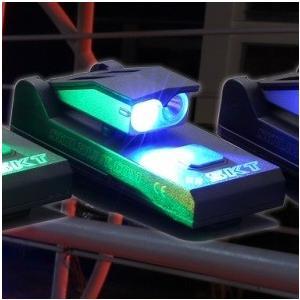 SKILHUNT PL1 Blue USB充電式 【CREE XP-G2 LED + 青色 LED 搭載 】 キャップライト|holkin