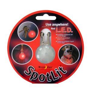 NITE-IZE SpotLit, Red : SLG-03-10:NIZ-L-017|holkin