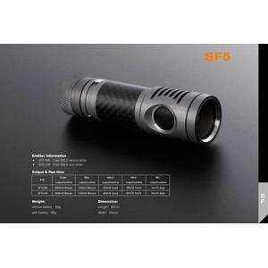 SPARK SF5-CW 【Cree XM-L2 Cool  White / 単3アルカリ or 14500 x 1本】 holkin