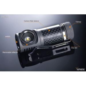SPARK SG3-CW 【Cree XM-L2 Cool  White / CR123 or RCR123 x 1本】