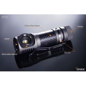 SPARK SG5-CW 【Cree XM-L2 Cool White / 単3アルカリ or 14500 x 1本】 holkin