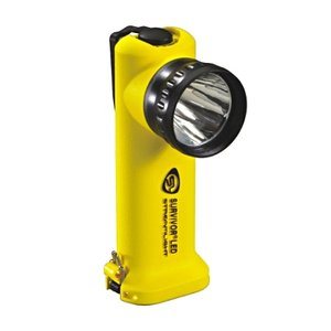 Streamlight Survivor LED , Yellow Body , Power source 4AA alkaline batteriesストリームライト サバイバーLED 本体色:イエロー 【電源:アルカリ電池】|holkin