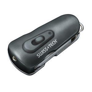 LEDライト付 SwissTech スイステック 8-in-1 Swivel Tool with Bottle Opener: ST60320|holkin