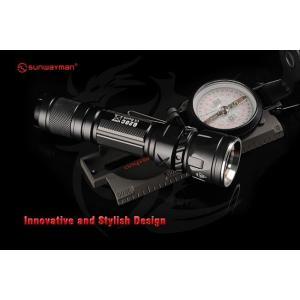 SUNWAYMAN G20C Compact Flashlight 【CREE XM-L2 U2 白色LED搭載 / 明るさMAX:1000ルーメン / CR123A×2本 or 18650×1本】|holkin