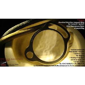XENO XRD / Punched Stainless Lanyard Ring 【ステンレス製ランヤード・リング】 holkin