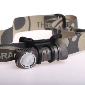 【拡散レンズ搭載モデル】 ZEBRALIGHT ゼブラライト H32Fw CR123 Headlamp Neutral White 【Cree XM-L2 Neutral White (Nominal CCT 4400K) 昼白色LED 搭載 】|holkin