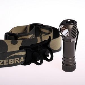 ZEBRALIGHT ゼブラライト H52 AA Flood Headlamp Cool White 【Cree XM-L2 Cool White (Norminal CCT 6300K)】 単3アルカリ電池×1本使用コンパクトライト|holkin