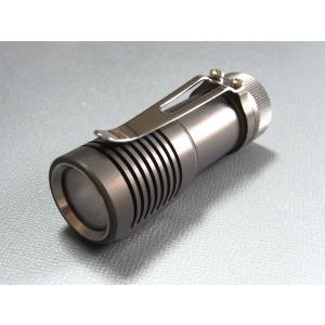 【拡散フィルター付:Cree XP-G Cool White 搭載】  ZEBRALIGHT SC31F 209Lm CR123 Flashlight|holkin